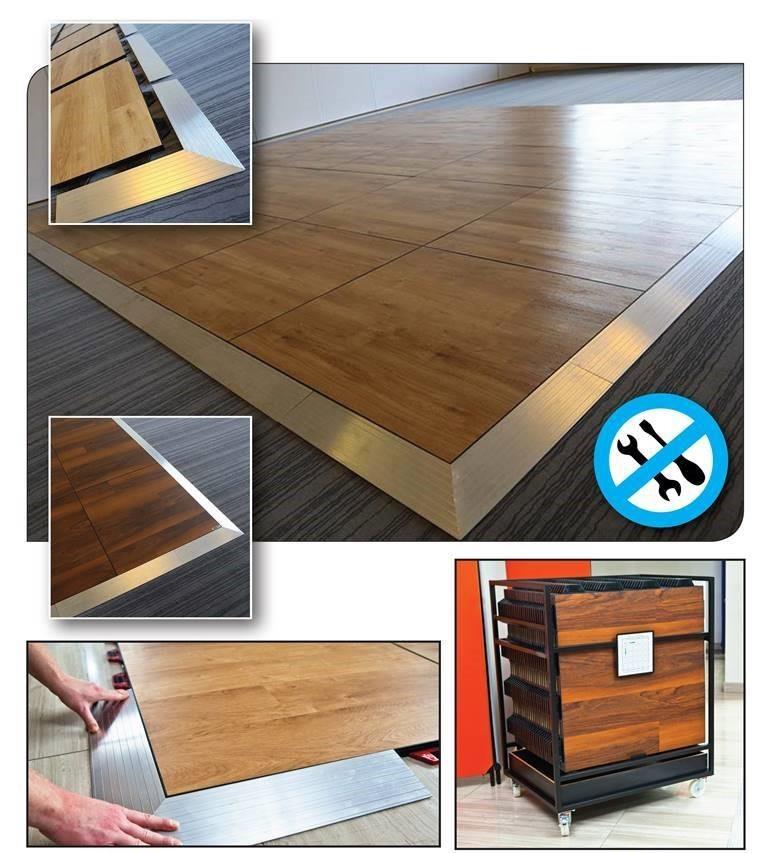 podłoga składana montaż