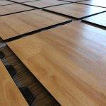 podłoga składana dębowa jasna