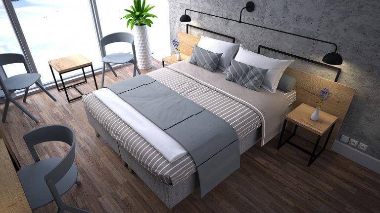 Standardy i rodzaje pokojów hotelowych